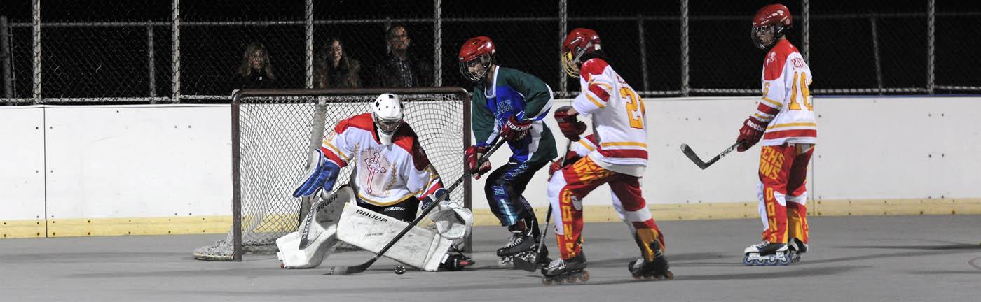 Eastlake roller hockey team keeps winning big games, rolls