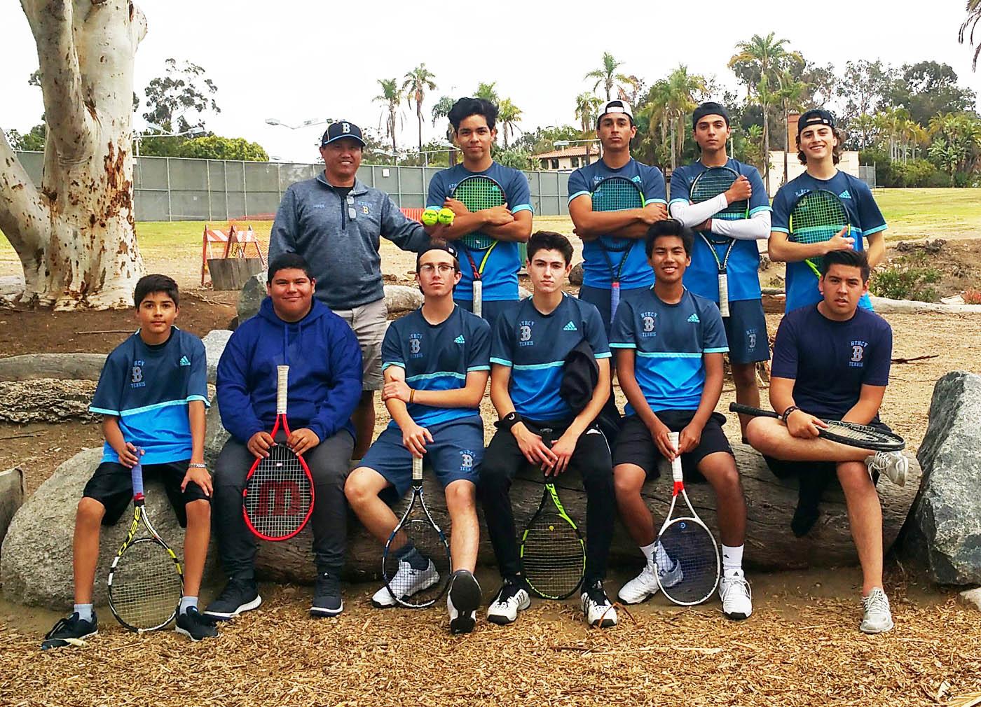 Sweetwater High Tech High Chula Vista Advance To Cif Boys Tennis Semifinals