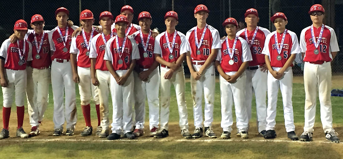 Tecolote Red all-stars representing region in Pony-14 West