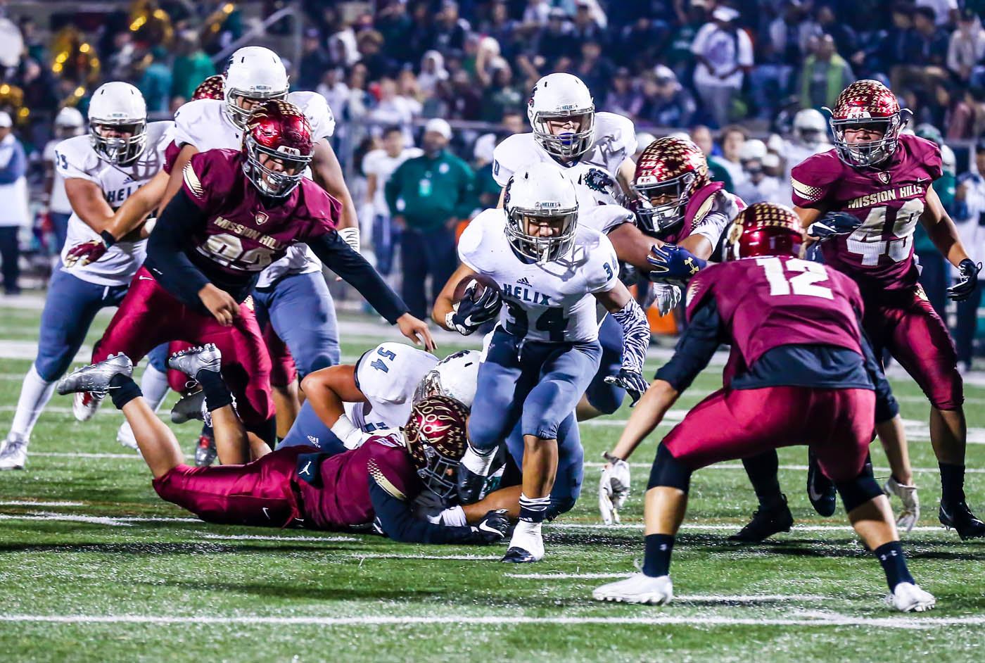 Usual Suspects Back On Top Of San Diego Section Football Rankings